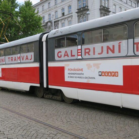 Seznamte se s Tranzitním programem v Galerijní tramvaji